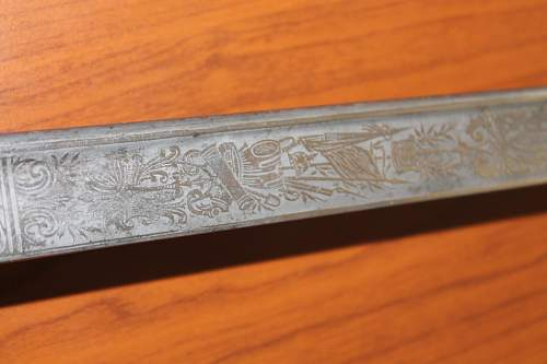 Clemens Jung ornated sword cavalry? Please help to ID
