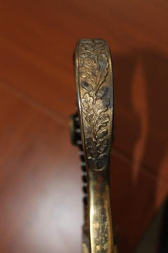 Unmarked Heer sword. Please help to ID