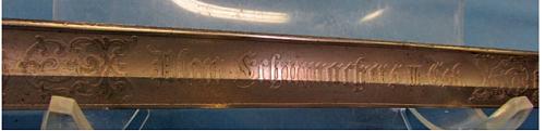 m1889 german sword
