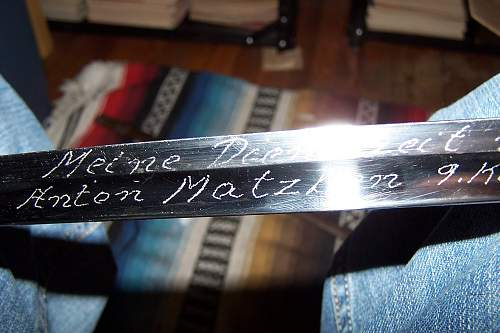 Personalized Sword