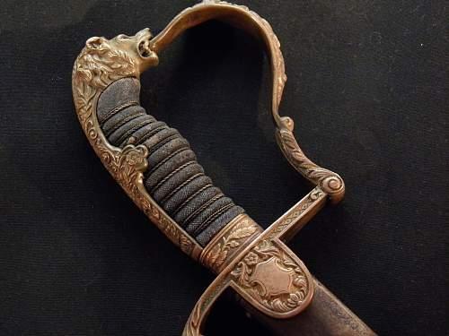 Grosser sword made by Karl Kaiser