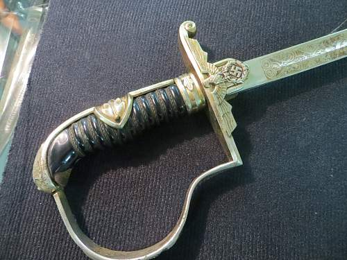 This  Political Eagle sword... Please I need your comments