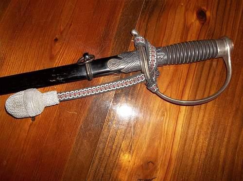 Police sword