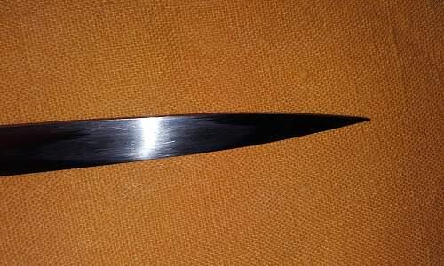 Police sword Holler
