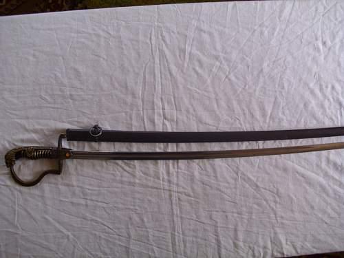Lion Head sword identification