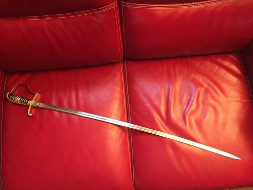 Sword wh fake or not ?