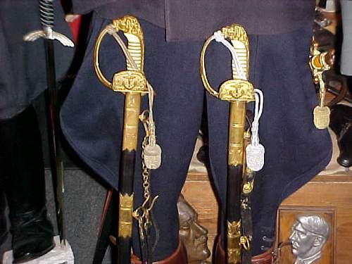 Navy Swords