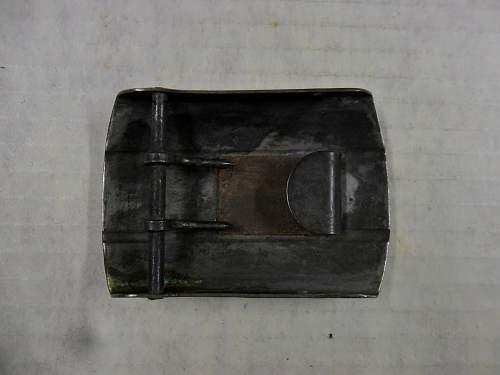 Unidentified Axis belt buckle.