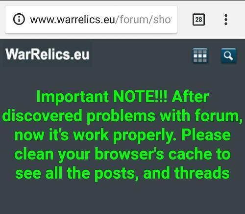Forum reset??