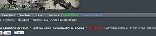"""Can we have a role of honour for our """"in memorium"""" members?"""