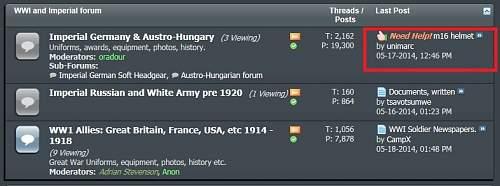 Imperial German Forum down?