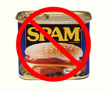 spam in my inbox