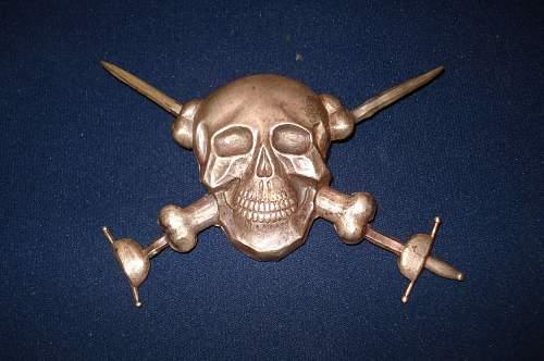 Moschettieri Del Duce Skull for fez
