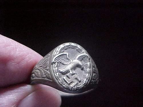 Luftwaffe Observer Ring