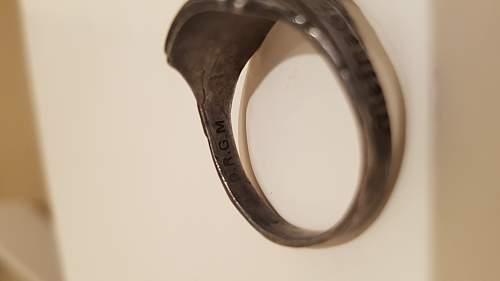 Help Identifying Totenkopf Ring