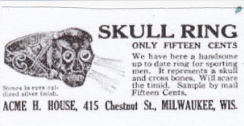 Panzer Skull Ring History Background
