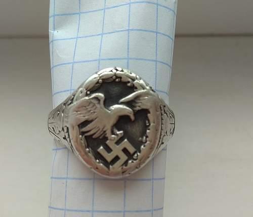 Luftwaffe Observer 'Badge' Ring for review
