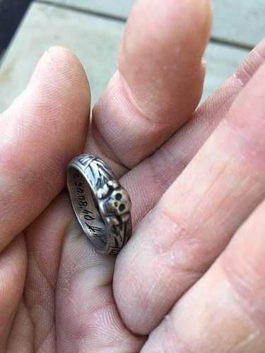 For review: SS Honor Ring - Dated 30/08/40