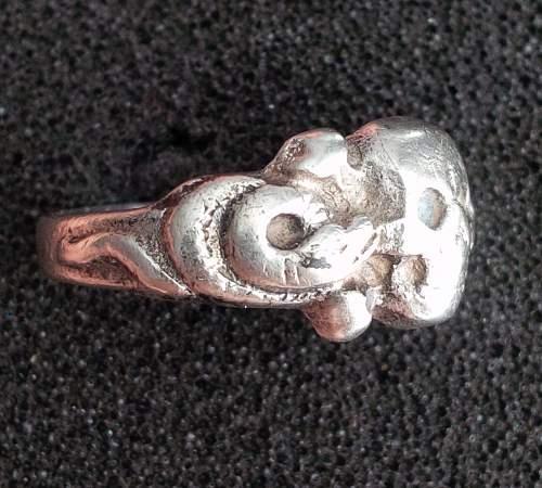 Totenkopfring, SS Ring, Authentic?