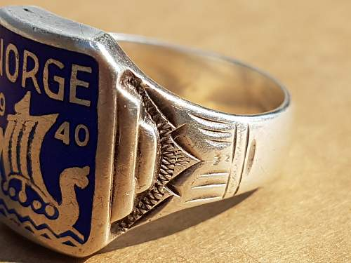 Look at this beauty: Norge ring