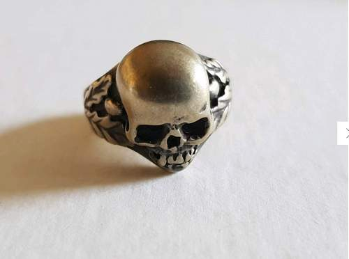 Waffen SS Totenkopf Ring Authentic? PICS