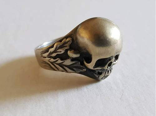 Waffen SS Totenkopf Ring Authentic? PICS