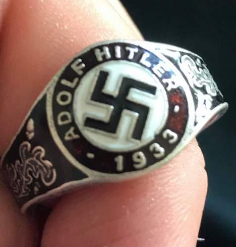 German officer ring 1933