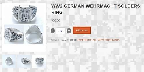 Ring, Heer, Original?