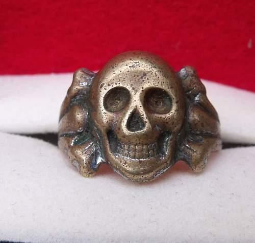 Canteen Skull Ring