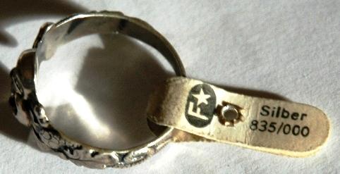 Frey & Co. Skull Ring......