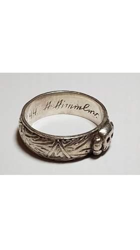 Ss totenkopf ring is an original or fake ..