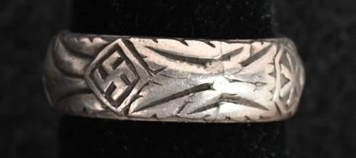 Totenkopf Ring SS honor ring