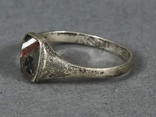 Patriotic ring