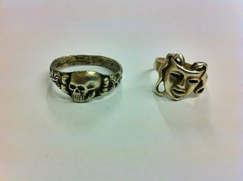 Help to identify these rings