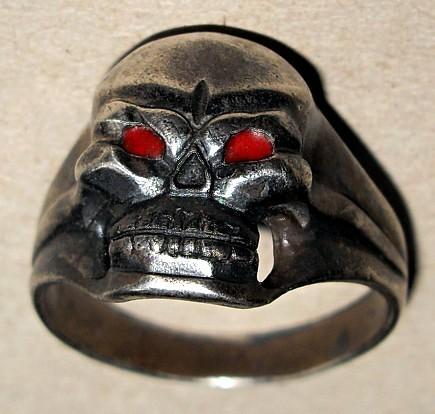 """Skull Ring """"from Stalingrad"""""""