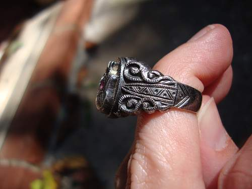 German Skull ring... real or fake?