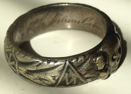 SS Honour Ring: I just Got is it real or fake