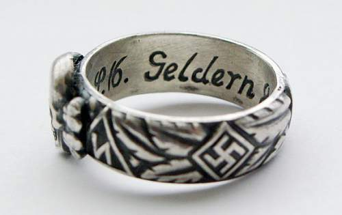 SS honour ring, fake or real? (SS-ehrenring)