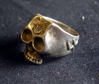 SS Skull Ring, haven't found this pattern any place