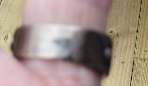 The last of my possible fake Nazi rings with engraving inside