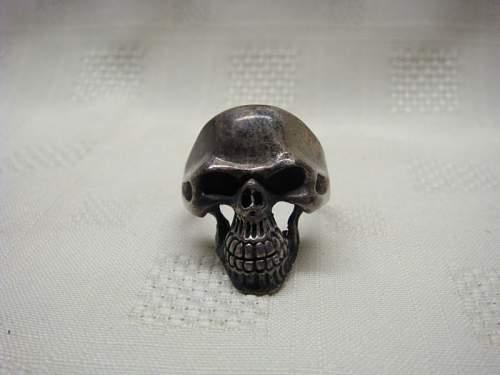 WW2 Skull ring real or fake?