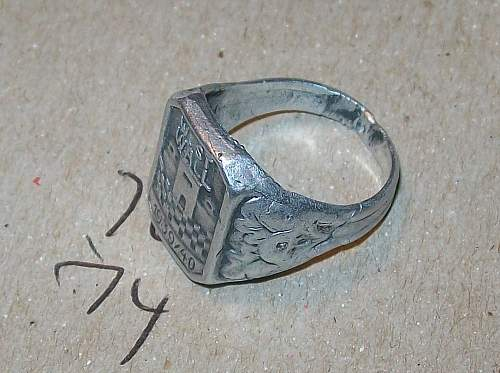 German SS Officer's Ring? Real or Fake?