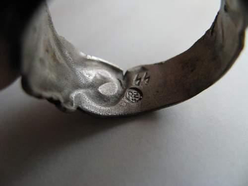 Totenkopf Ring - authenticity