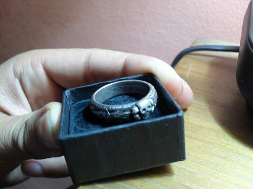 SS Honour Ring: How to tell real from fake?