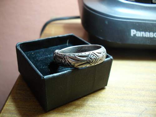 This is MY FAKE SS Honor Ring. =(