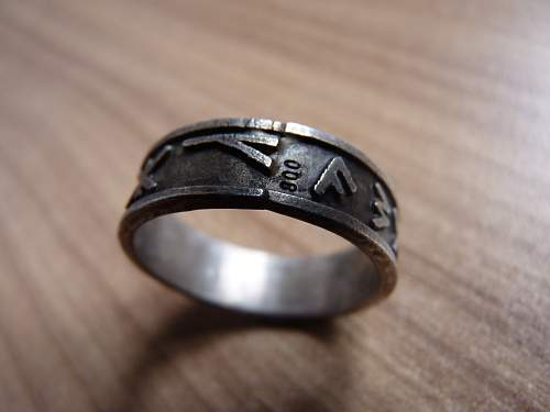 SS ring and wedding ring