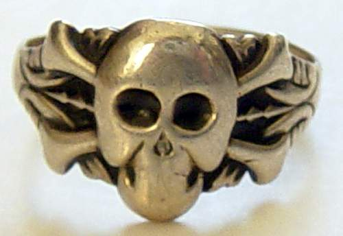 Private purchase Deathshead ring