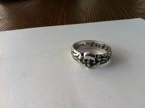 SS Honour ring: Fake or real?