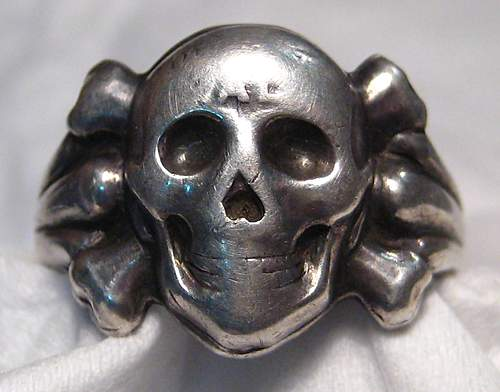 Westwall ring in Silber