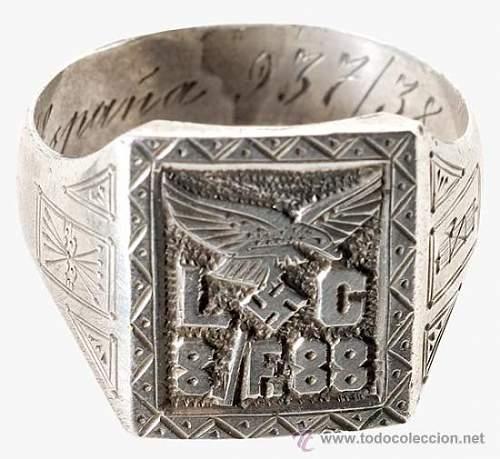 Legion Condor genuine ring?